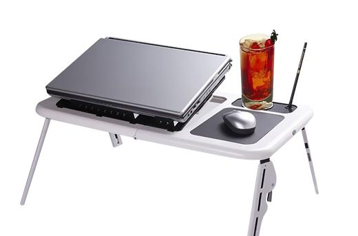 Deluxe Foldable E-Table Laptop Cooler