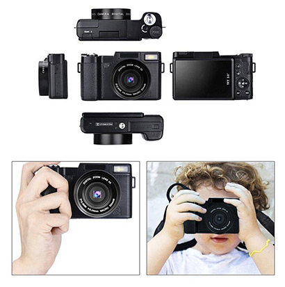 Popcorn-Digital-Camera-Vlogging-Camera-Full-HD-1080p-240MP-body3